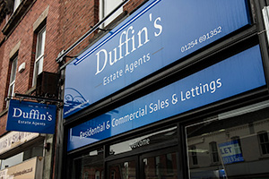 Duffin's Shop Front